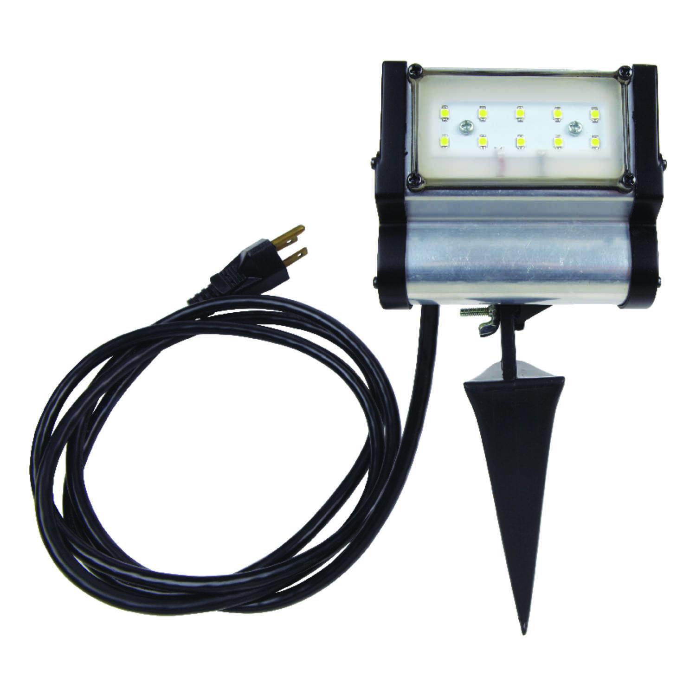 Ace Black Plug In LED Spike Light 1 Pk
