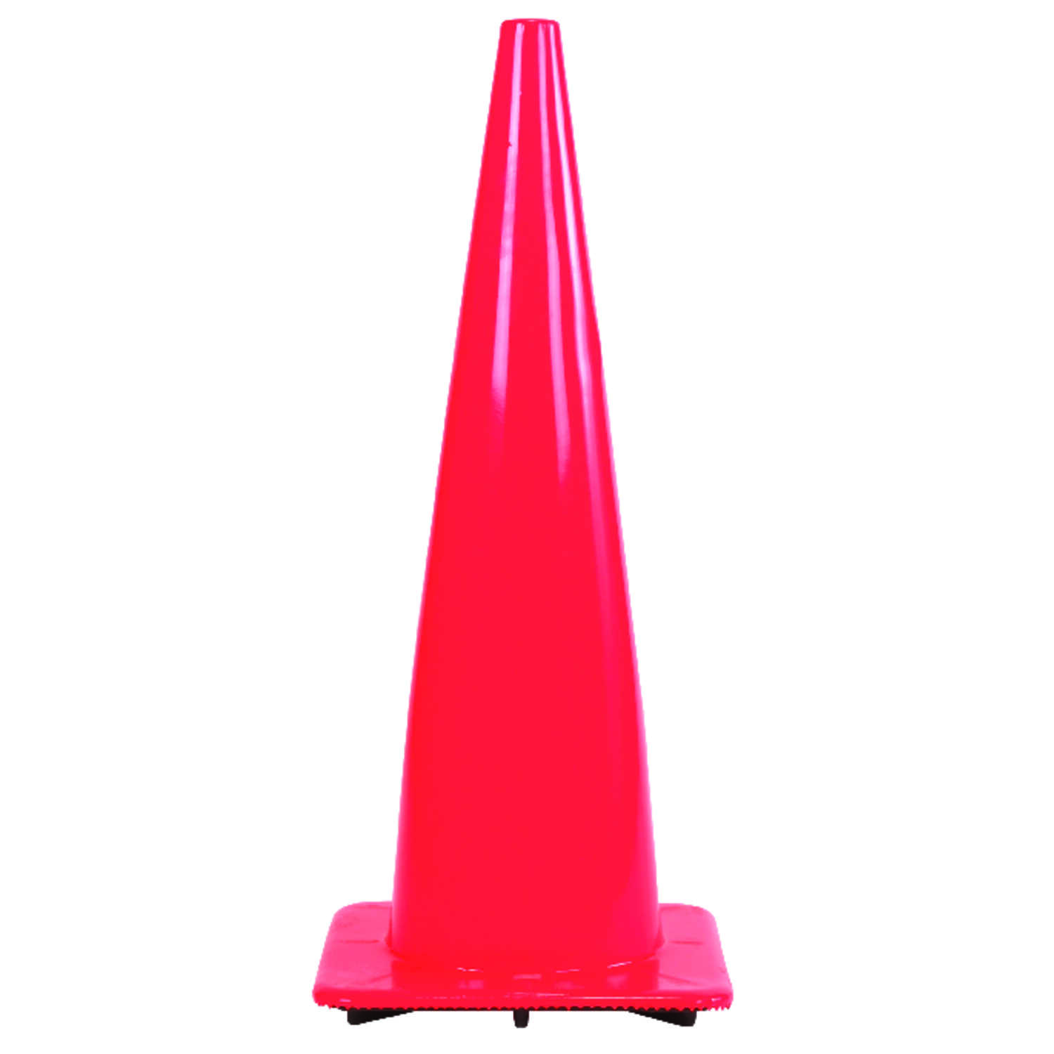 Hy-Ko  36 in. Round  Orange  Safety Cone  1 pk