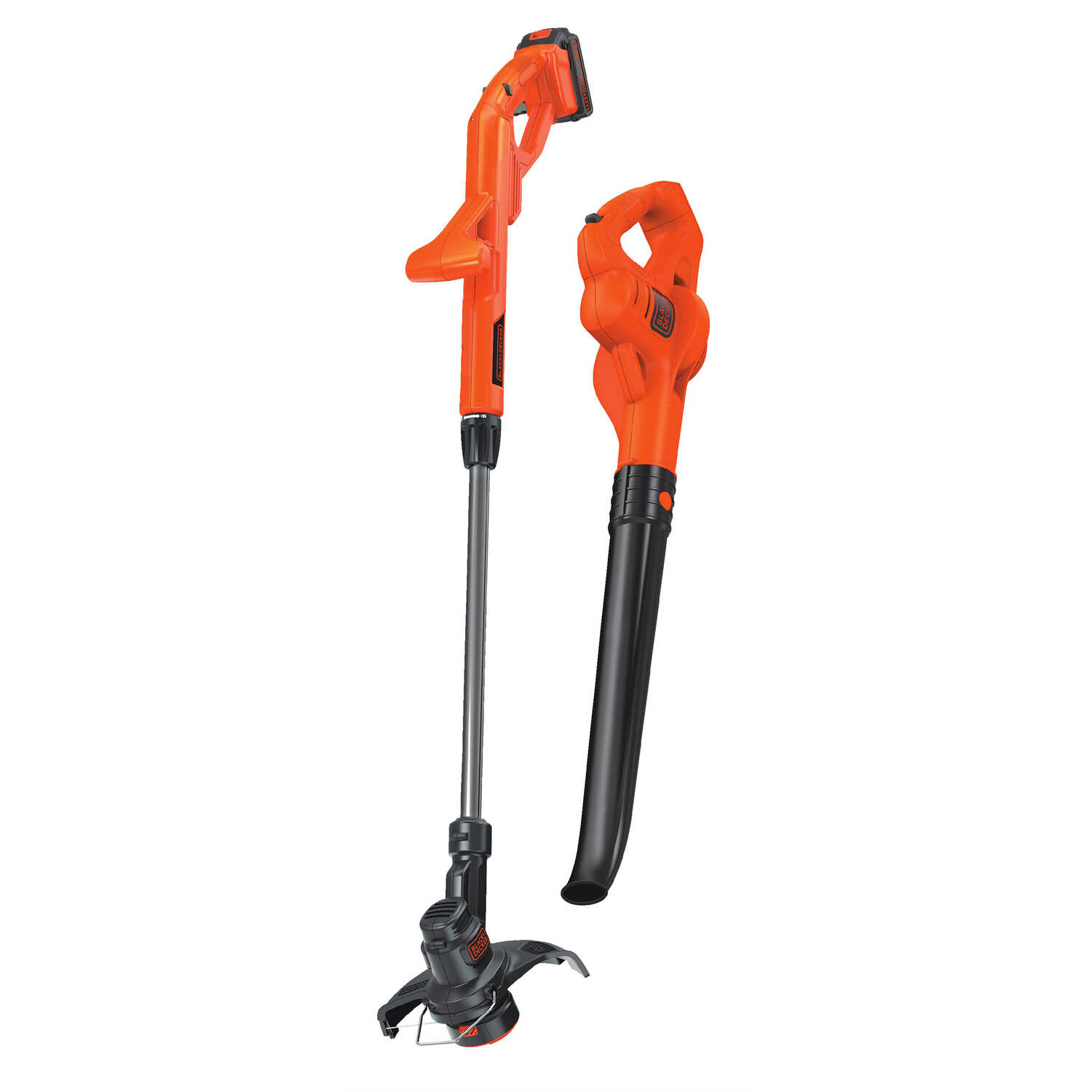 Black and Decker  Straight Shaft  Battery  String Edger/Trimmer plus Sweeper Combo Kit  Cordless