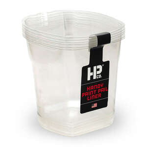 HANDy  Clear  1 qt. Plastic  Liner  HANDy Paint Pail
