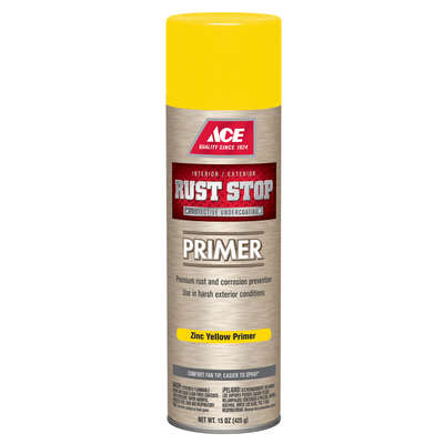 Ace  Rust Stop  Yellow  Primer  15 oz.
