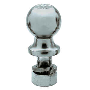 Reese  Towpower  Chrome Plated Steel  Standard  2 in. 8 in. Trailer Hitch Ball