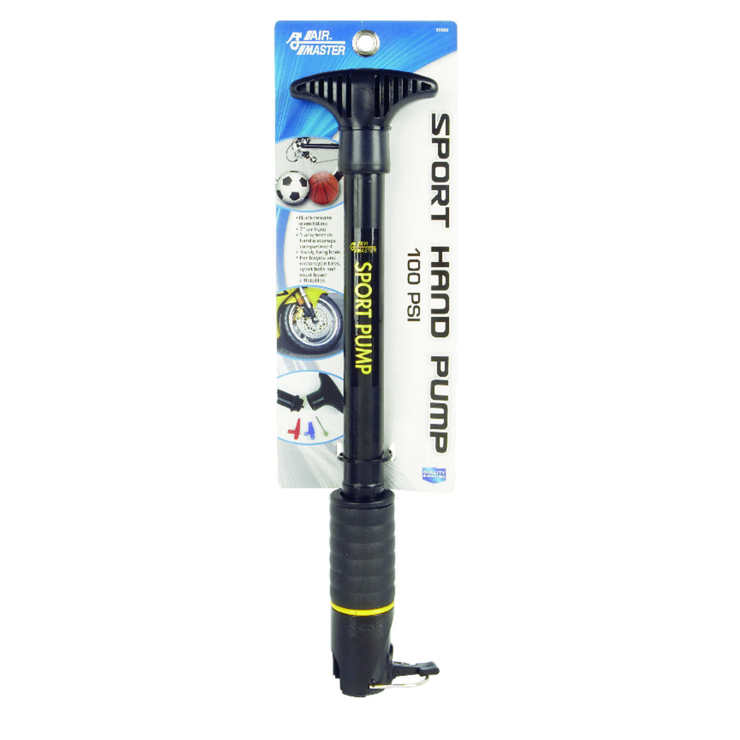 Air Master  100 psi Hand Pump  For Bicycle Tires