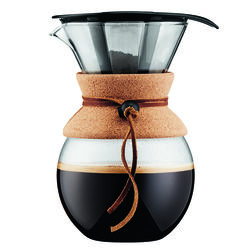 Bodum Pour Over 34 oz. Brown Pour-Over Coffee Brewer