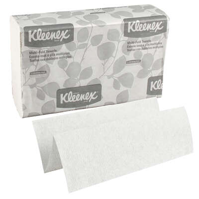 Kleenex  Multi-Fold Towels  150 sheet 1 ply 8 pk