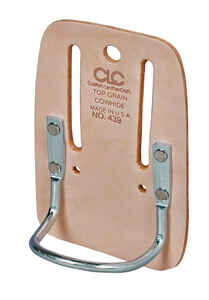 CLC  1 pocket Leather  Hammer Holder  3.9 in. L x 5.8 in. H Tan
