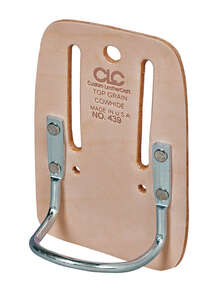 CLC Work Gear  1  Leather  3.9 in. L x 5.8 in. H Hammer Holder  Tan
