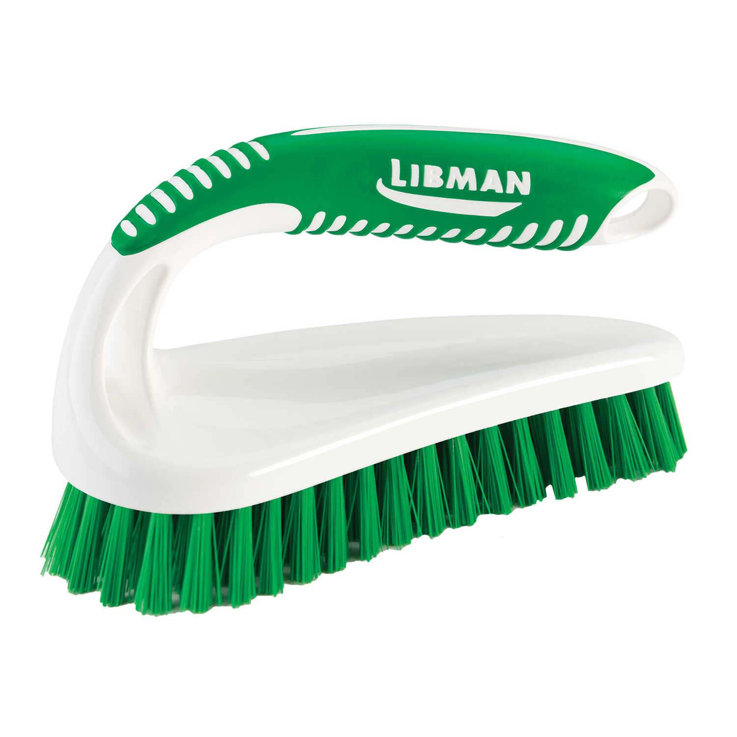 Libman  2.5 in. W Sanoprene  Scrub Brush