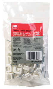 Gardner Bender  7/16 in. W Insulated Cable Staple  50 pk Plastic