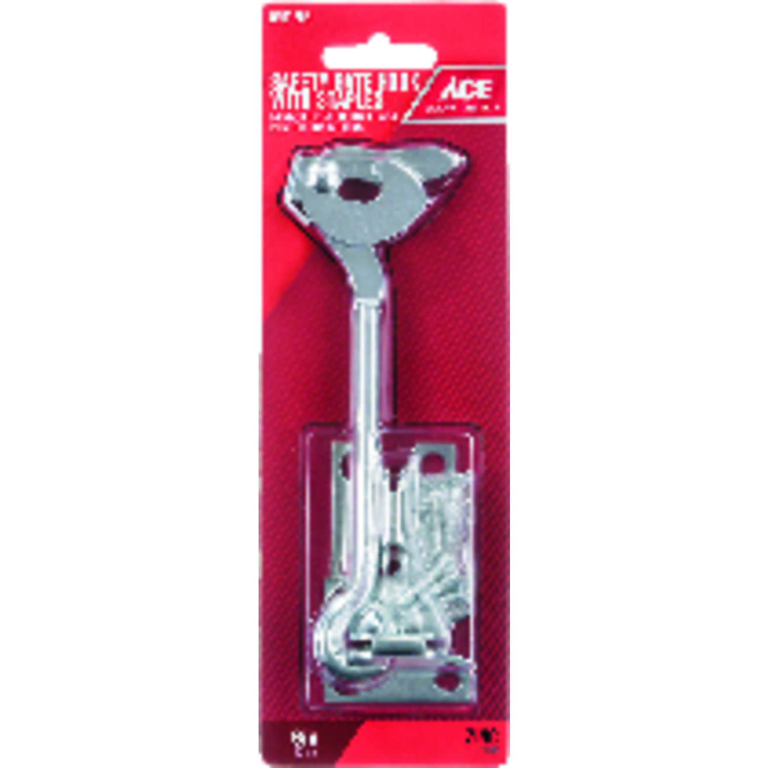 Ace  1 in. L Zinc  Plate Staple Gate Hook  1 pk