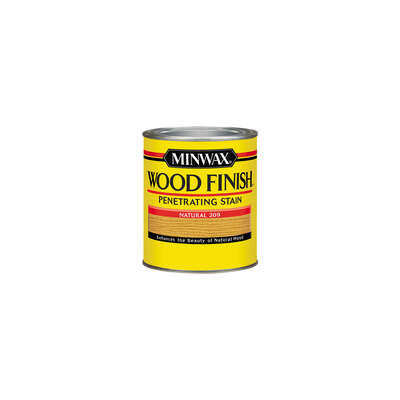 Minwax  Wood Finish  Semi-Transparent  Natural  Oil-Based  Wood Stain  0.5 pt.