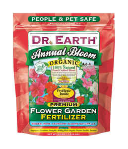Dr. Earth  Annual Bloom  Granules  Organic Flower Care  4 lb.