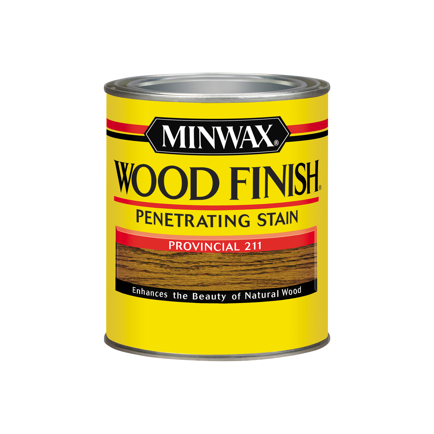 Minwax  Wood Finish  Semi-Transparent  Provincial  Oil-Based  Oil  Wood Stain  1 qt.