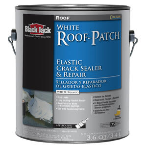 Black Jack  Gloss  White  Elastomeric  Roof Sealant  1 gal.