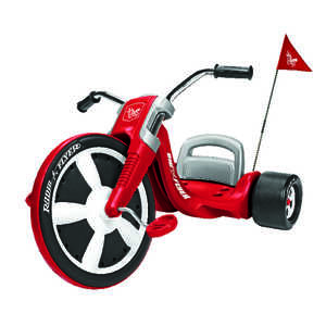 Radio Flyer  Unisex  Tricycle  Red  16 in. Dia.