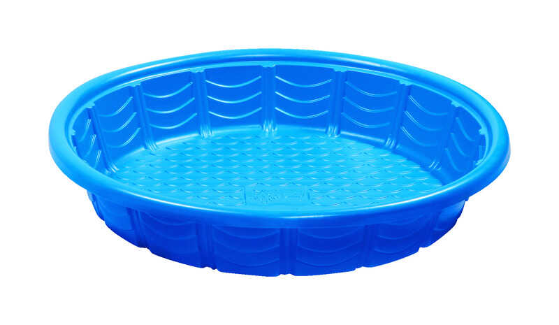 Summer Escapes 79 In H X 45 In Dia Wading Pool Plastic Round