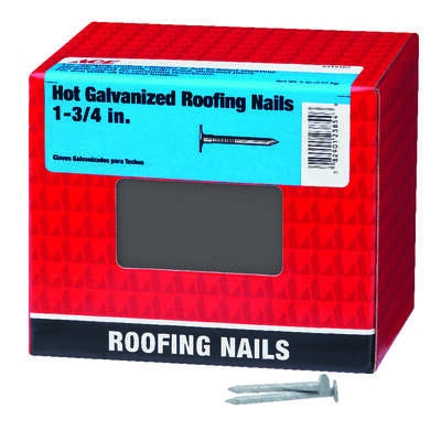 Ace  1-3/4 in. Roofing  Hot-Dipped Galvanized  Steel  Nail  Large  5 lb.