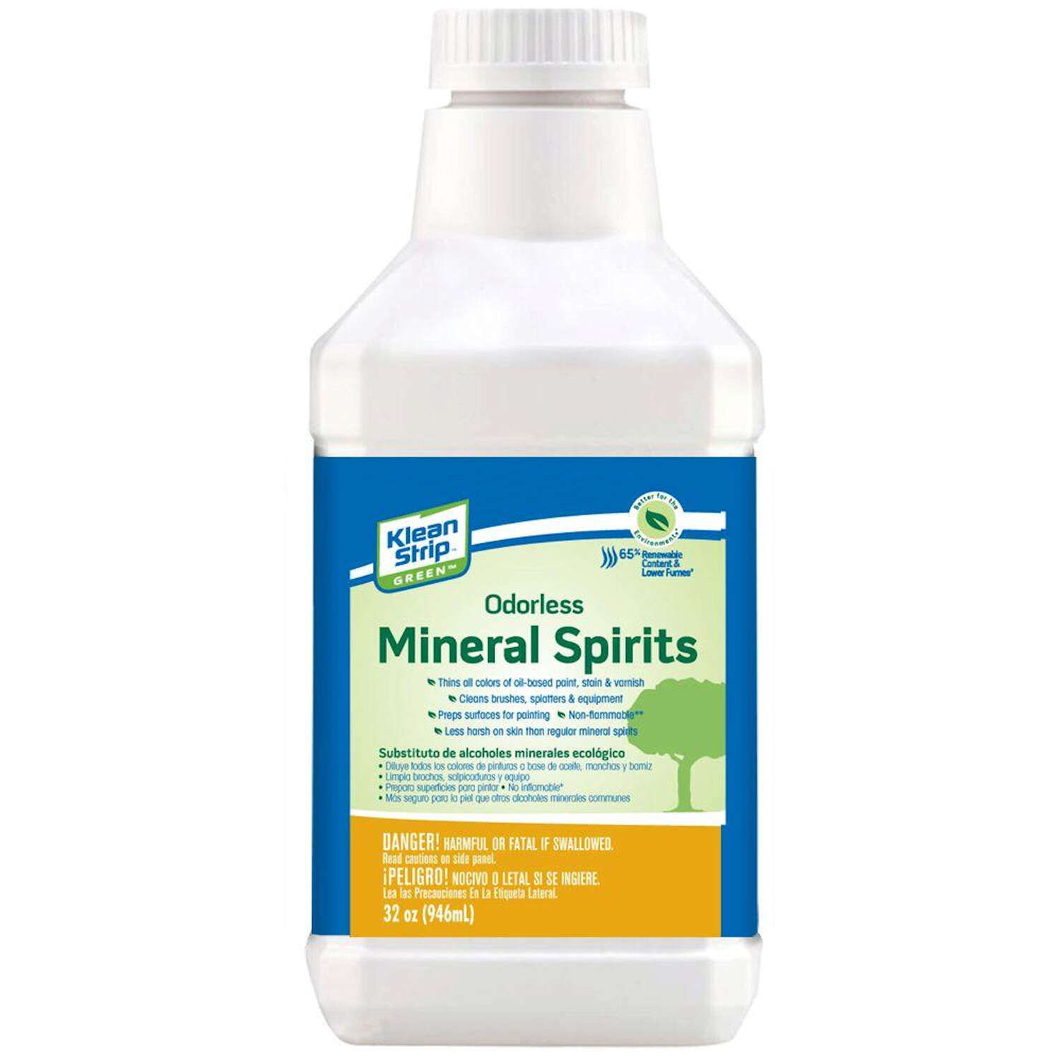Klean Strip  Green  Mineral Spirits  32 oz.