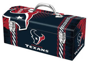 Windco  16.25 in. Houston Texans  Steel  7.1 in. W x 7.75 in. H Art Deco Tool Box