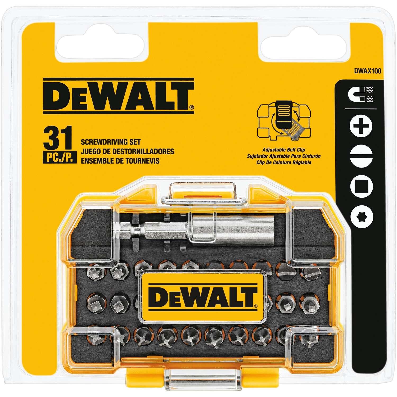 Dewalt 31 pc. Screwdriver Set 2 in. DWAX100