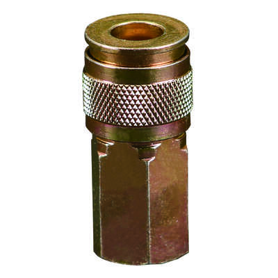 Bostitch  Steel  Universal Coupler  1/4 in. Female  NPT  1 pc.