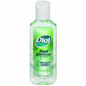Dial  Citrus Scent Hand Sanitizer  2 oz.