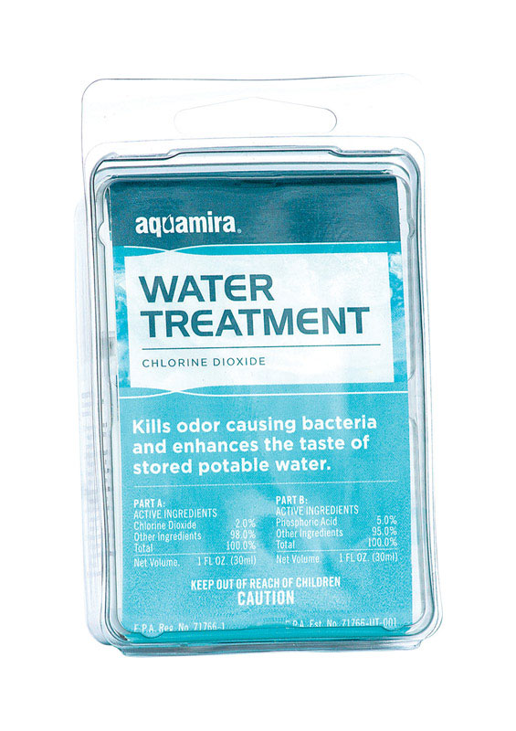 Aquamira  Water Treatment Drops  30 gal.