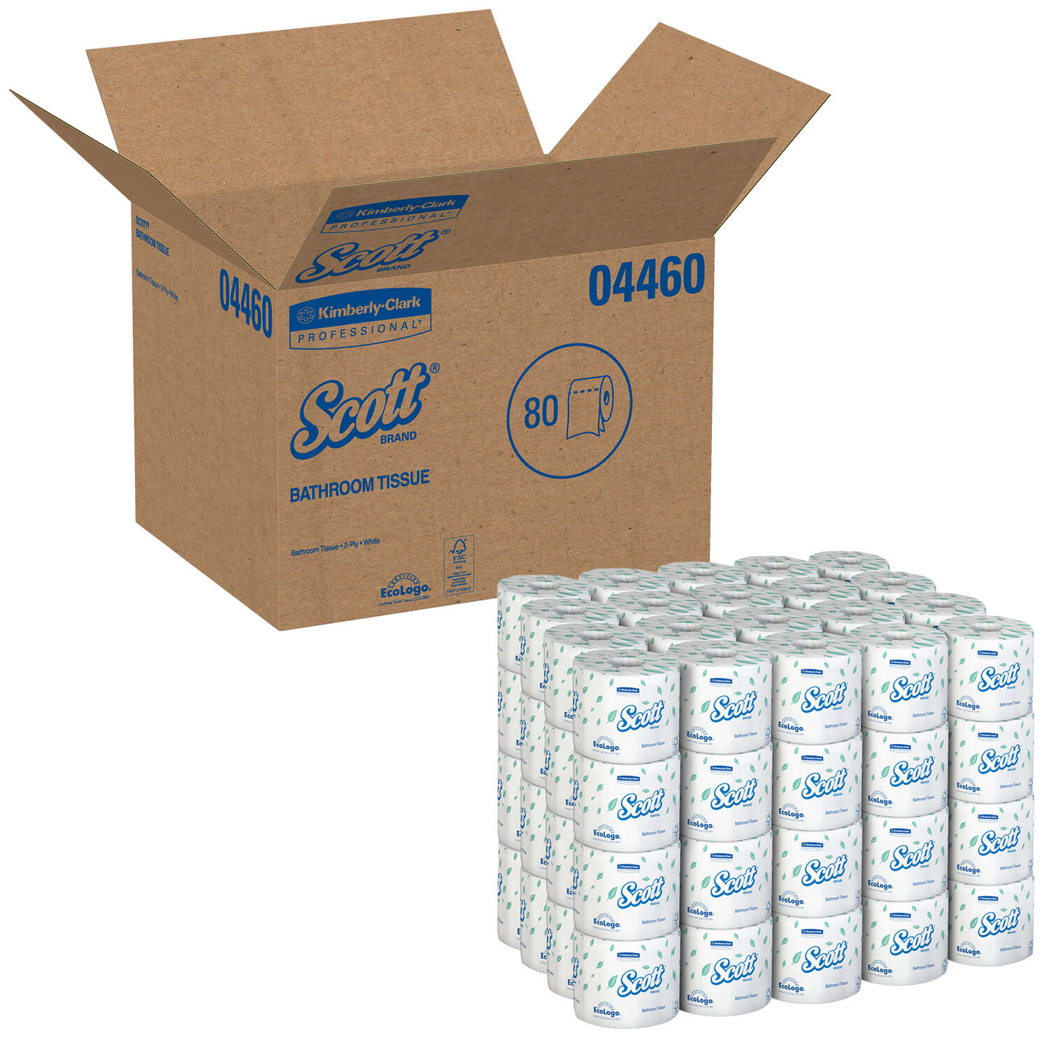 Scott  Toilet Paper  80 pk 550 sheet 550