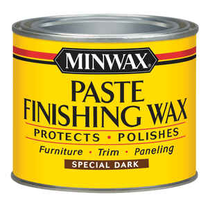 Minwax  Dark  Finishing Wax  Paste  16 oz.