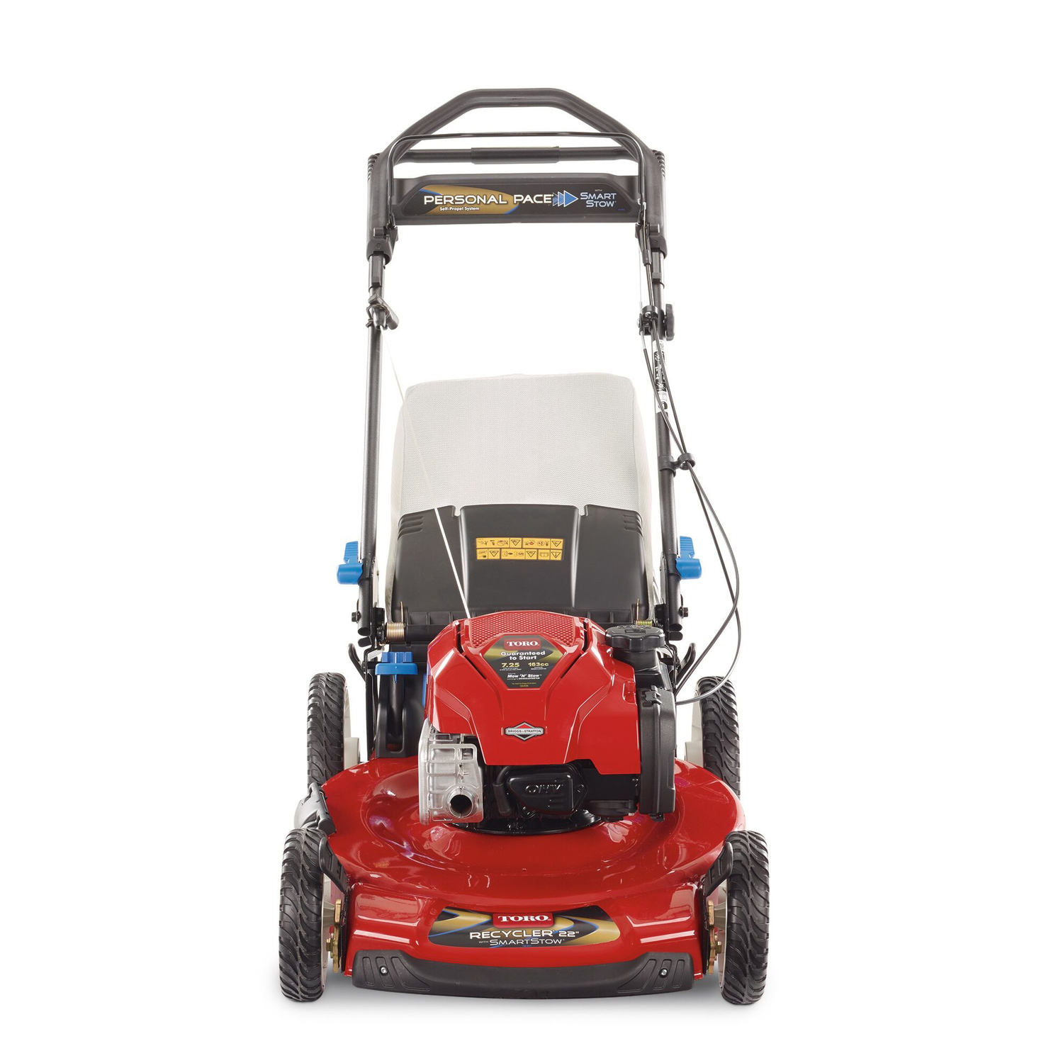 Toro SmartStow Personal Pace 22 in. 163 cc Self-Propelled Lawn Mower