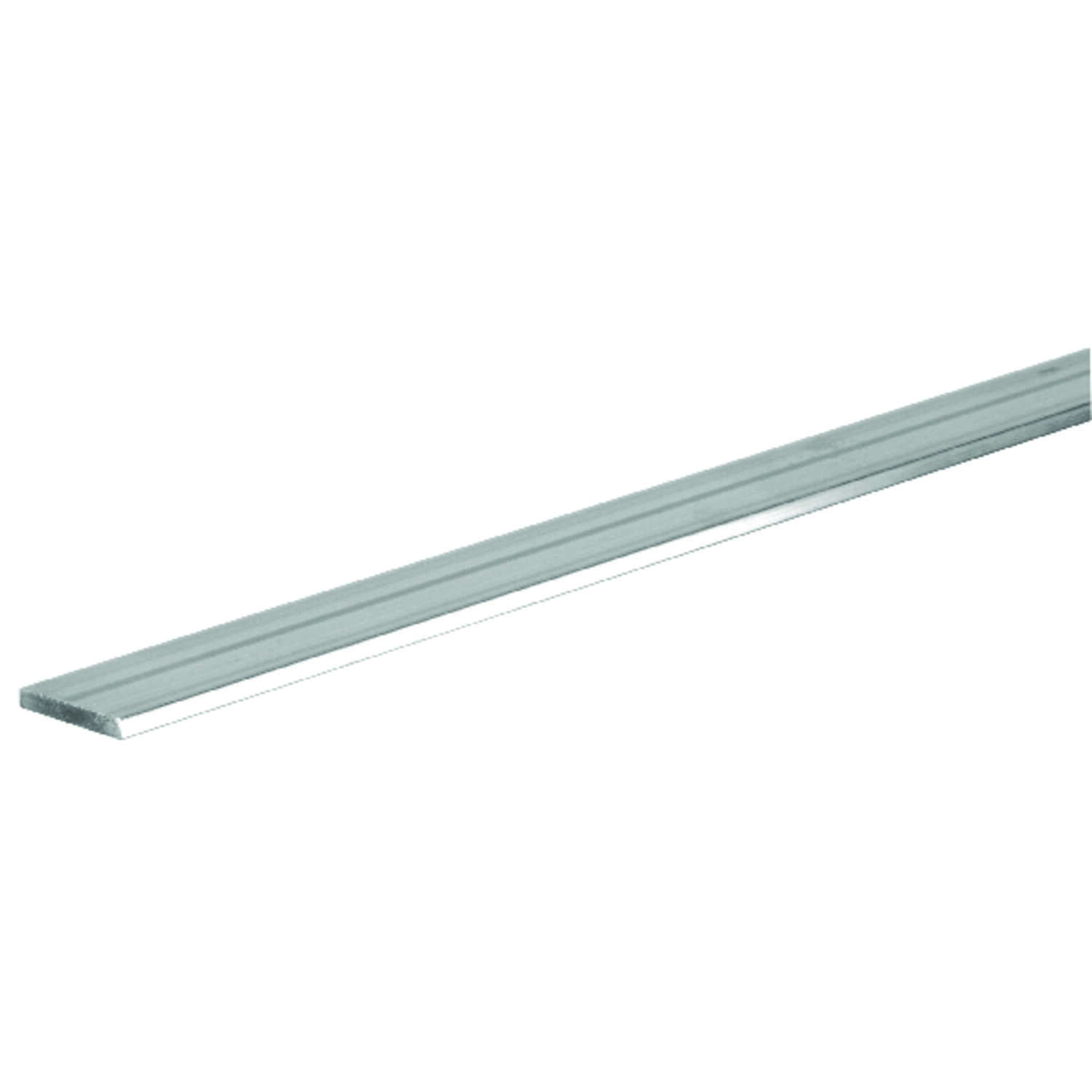 Boltmaster  0.125 in.  x 0.75 in. W x 6 ft. L Weldable Aluminum Flat Bar  5 pk