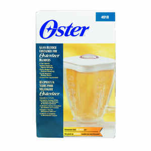 Oster  Boroclass  White  Aluminum/Glass  Blender  5 cups