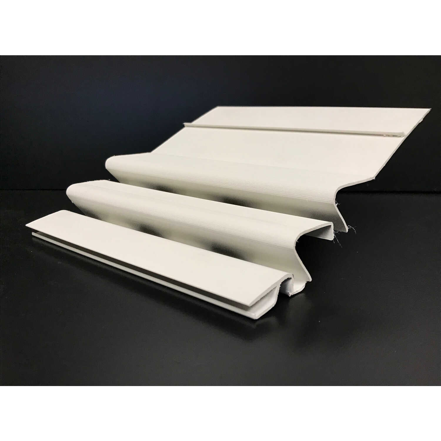 Crane Waterfall 4 In W X 8 Ft L White Pvc Gutter Guard