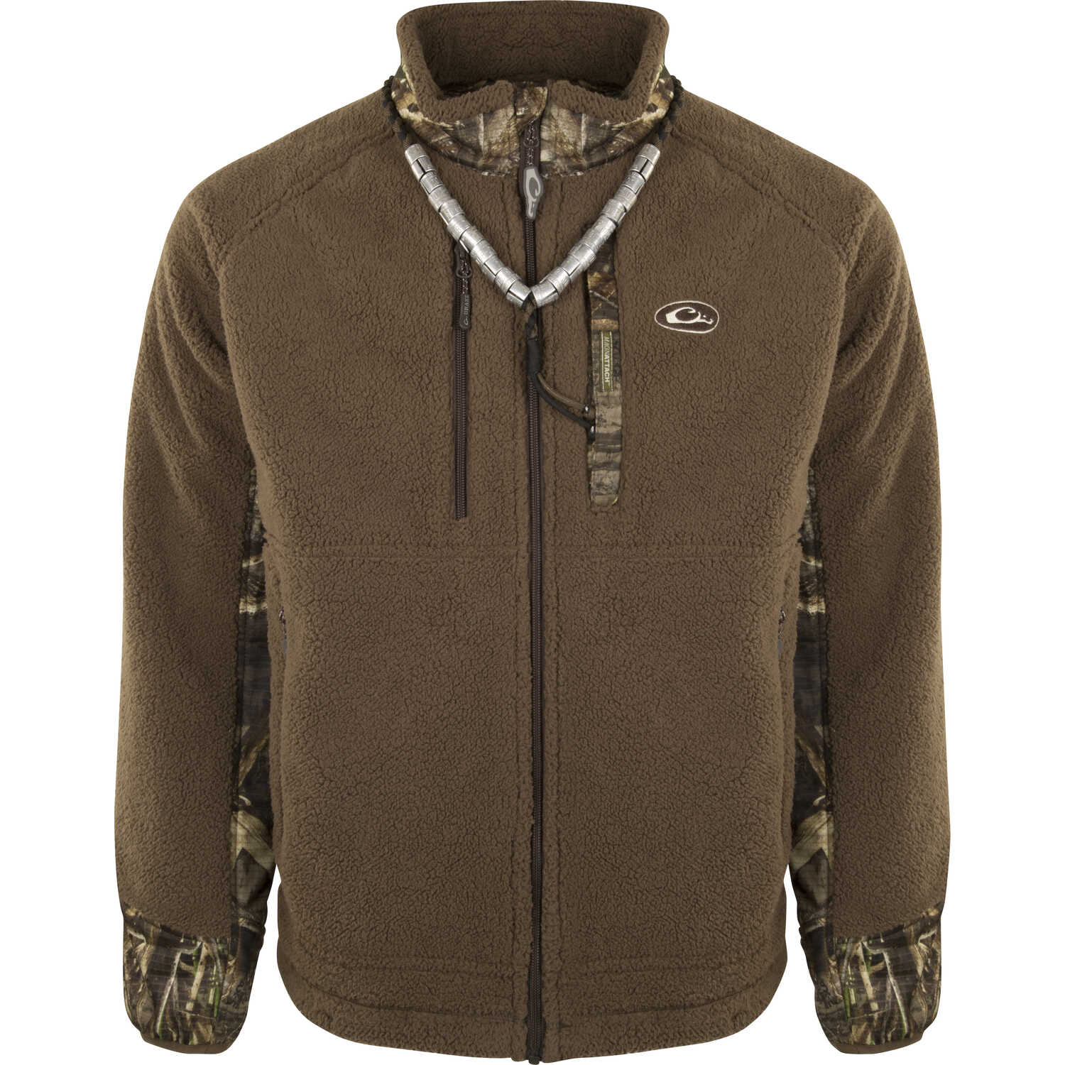 Drake  MST Sherpa  Medium  Men's  Long Sleeve  Full-Zip  Realtree Max-5  Liner