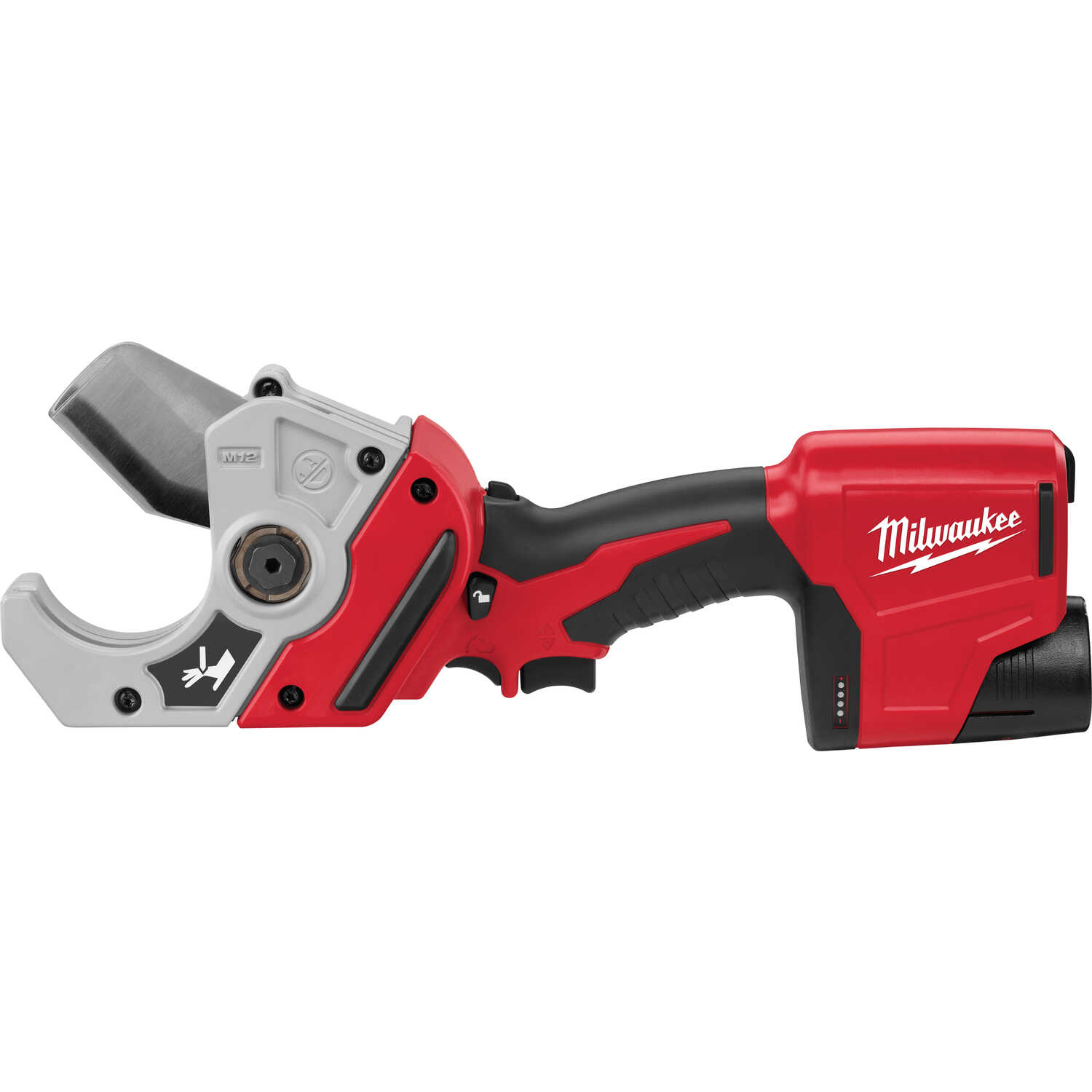 Milwaukee  M12  PVC Pipe Cutter  Black/Red  1 pk