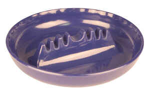 Fox Run  Black  Melamine Plastic  Ashtray