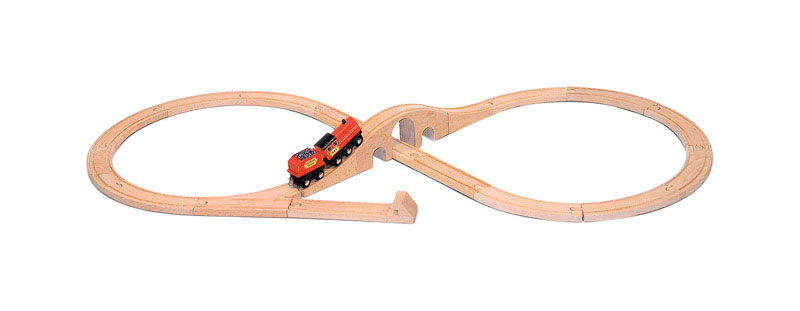 Melissa & Doug  Train Set  Wood