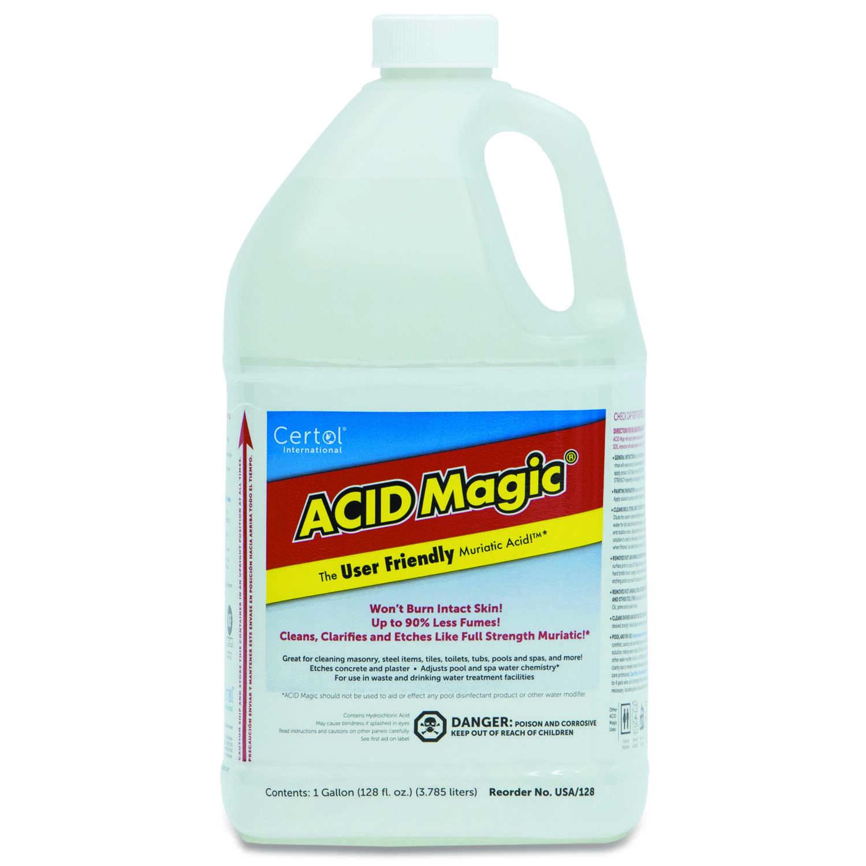 Certol International Acid Magic Muriatic Acid 1 gal  Liquid - Ace