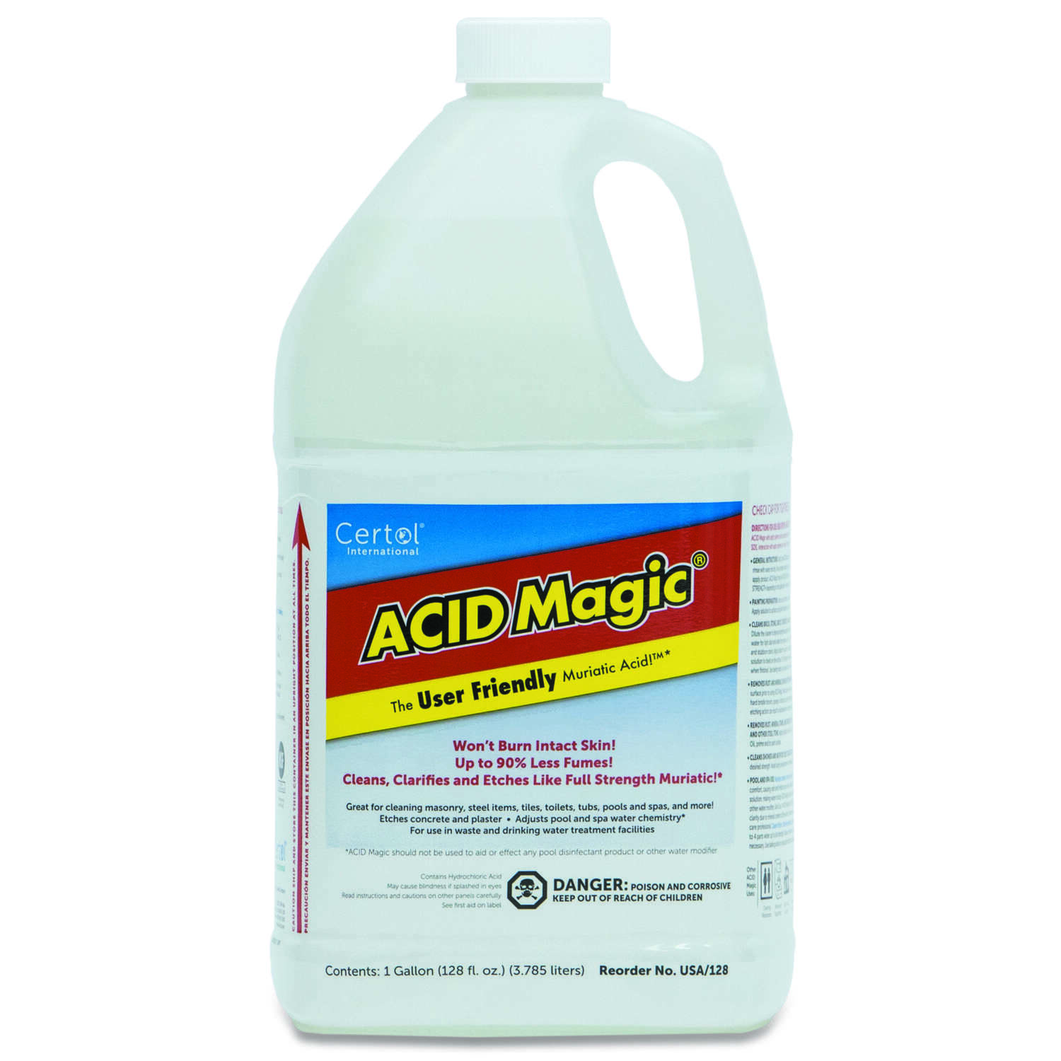 Certol International  Acid Magic  Muriatic Acid  1 gal. Liquid