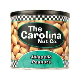 The Carolina Nut Company  Jalapeno  Peanuts  12 oz. Can