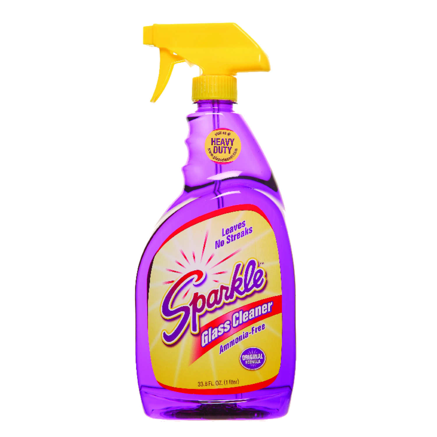 Sparkle  Mild Flowery/Fruity Scent Streak-Free Glass Cleaner  33.8