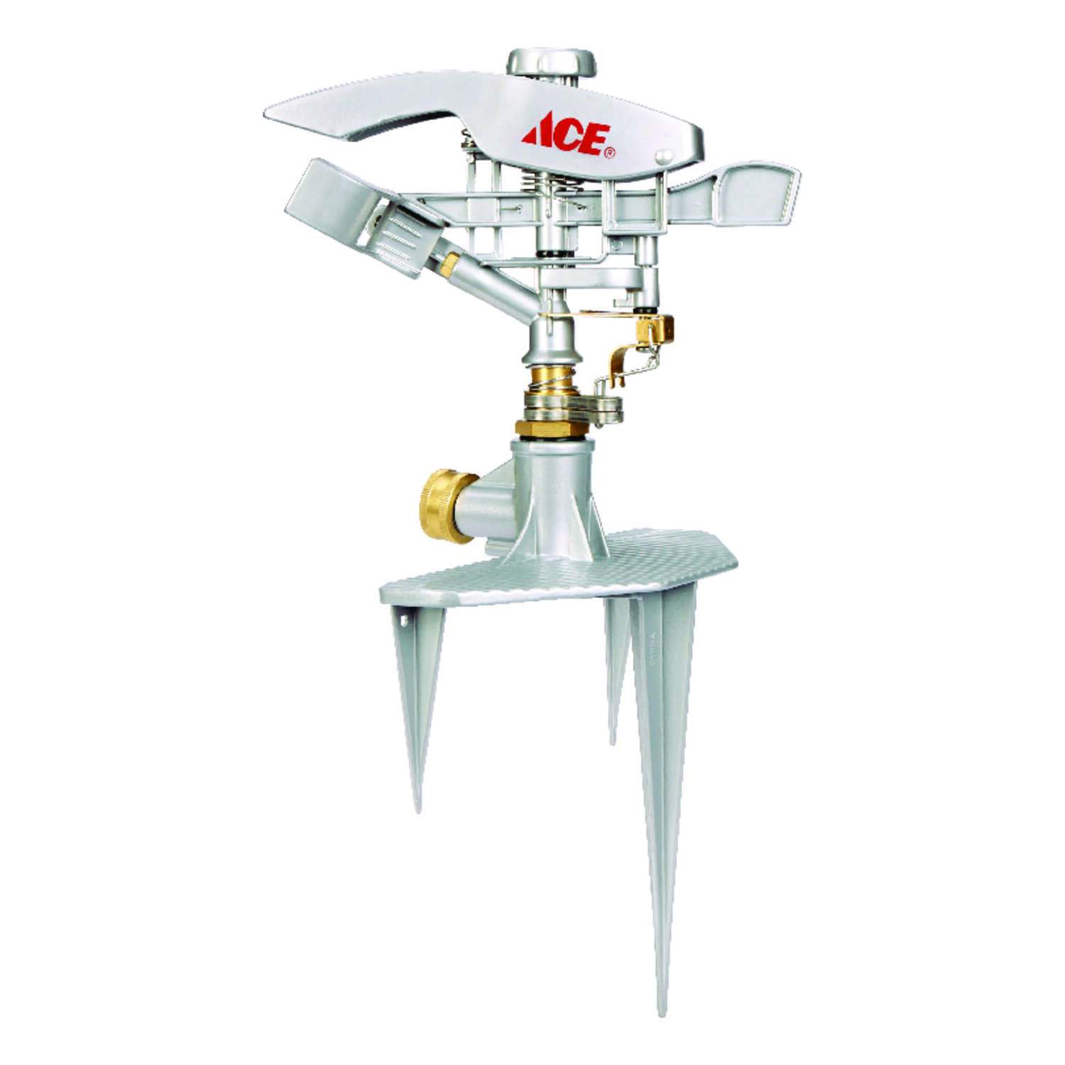 Ace  Metal  Tripod Base  Impulse Sprinkler  8500