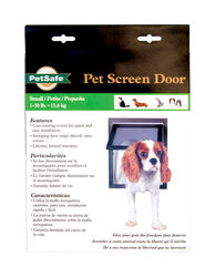Petsafe 8 in. H x 10 in. W Plastic Pet Screen Door