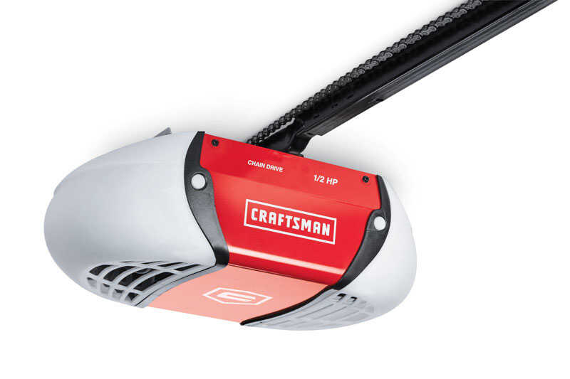 Craftsman  1/2 hp Chain Drive  WiFi Compatible Garage Door Opener