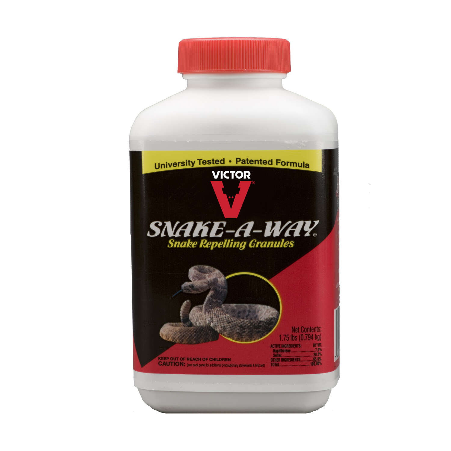 Victor  Snake-A-Way  Animal Repellent  Granules  For Snakes 1.75 lb.