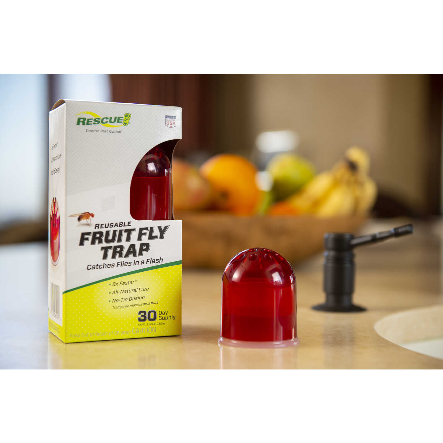 Rescue Fruit Fly Trap - Ace Hardware