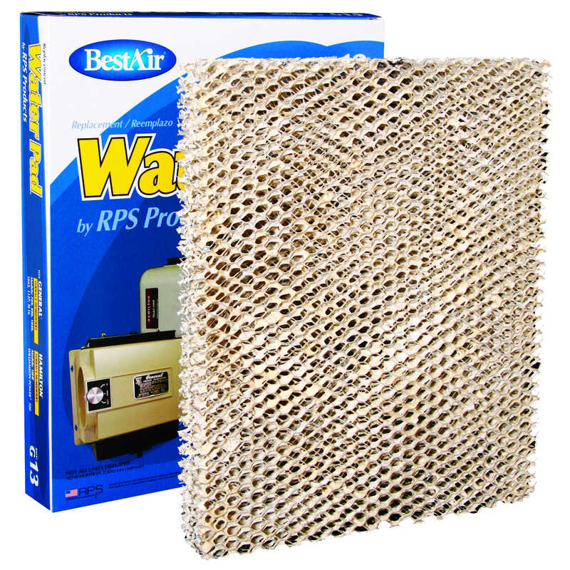 BestAir  G13  Replacement Water Pad  For Specific General, Hamilton, Williamson Power Humidifiers