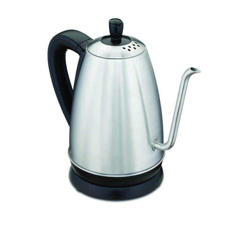 Hamilton Beach Silver Stainless Steel/Plastic 1.2 Electric Tea Kettle