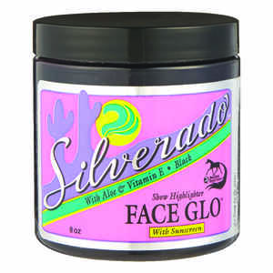 Silverado  Black Face Glo  For Horse 8 oz.