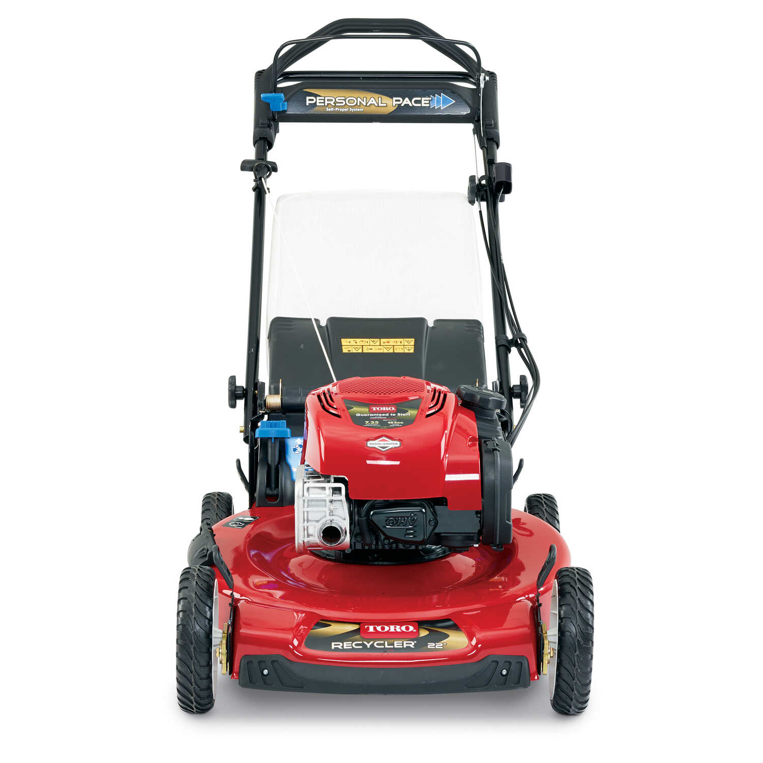 Toro Personal Pace 22 in  W 163 cc Self-Propelled Mulching